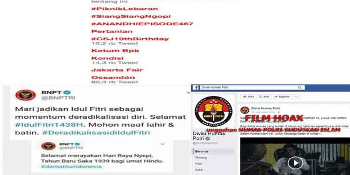 #PolriProvokatorSARA, Netizen: Sampai Segitu Bencinya Polisi ke Umat Islam