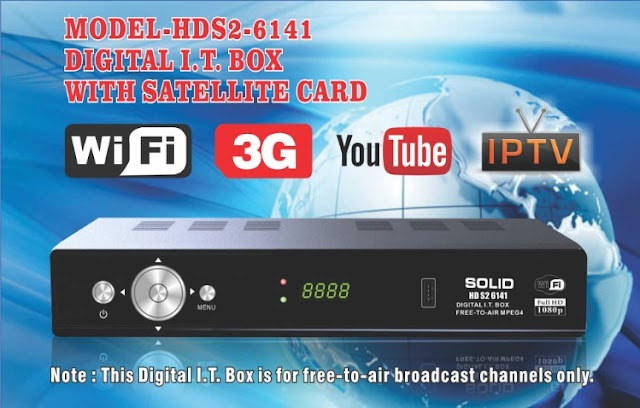 SOLID launched India's first HDS2-6141 I.T. Box