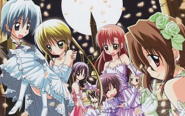 Hayate no Gotoku - Anime Action Romance Harem Terbaik