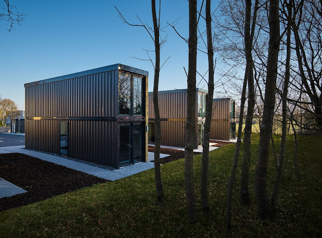 Shipping Container Tiny Homes Village, Germany 6