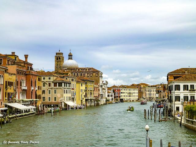 Gran Canal en Cannaregio - Venecia por El Guisante Verde Project