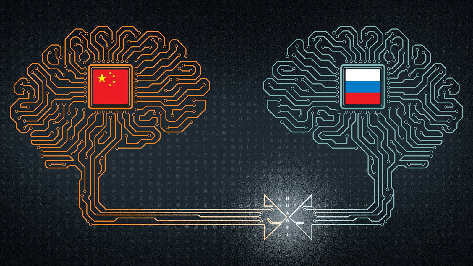 China-Russia AI partnership