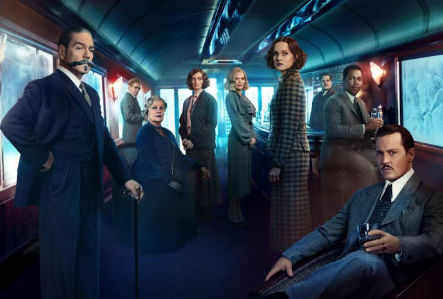 'Murder on the Orient Express' (2017) - Big-Screen Agatha Christie Remake Lines up Stars and Suspects. An all-star cast features in this adaptation. © Rissi JC