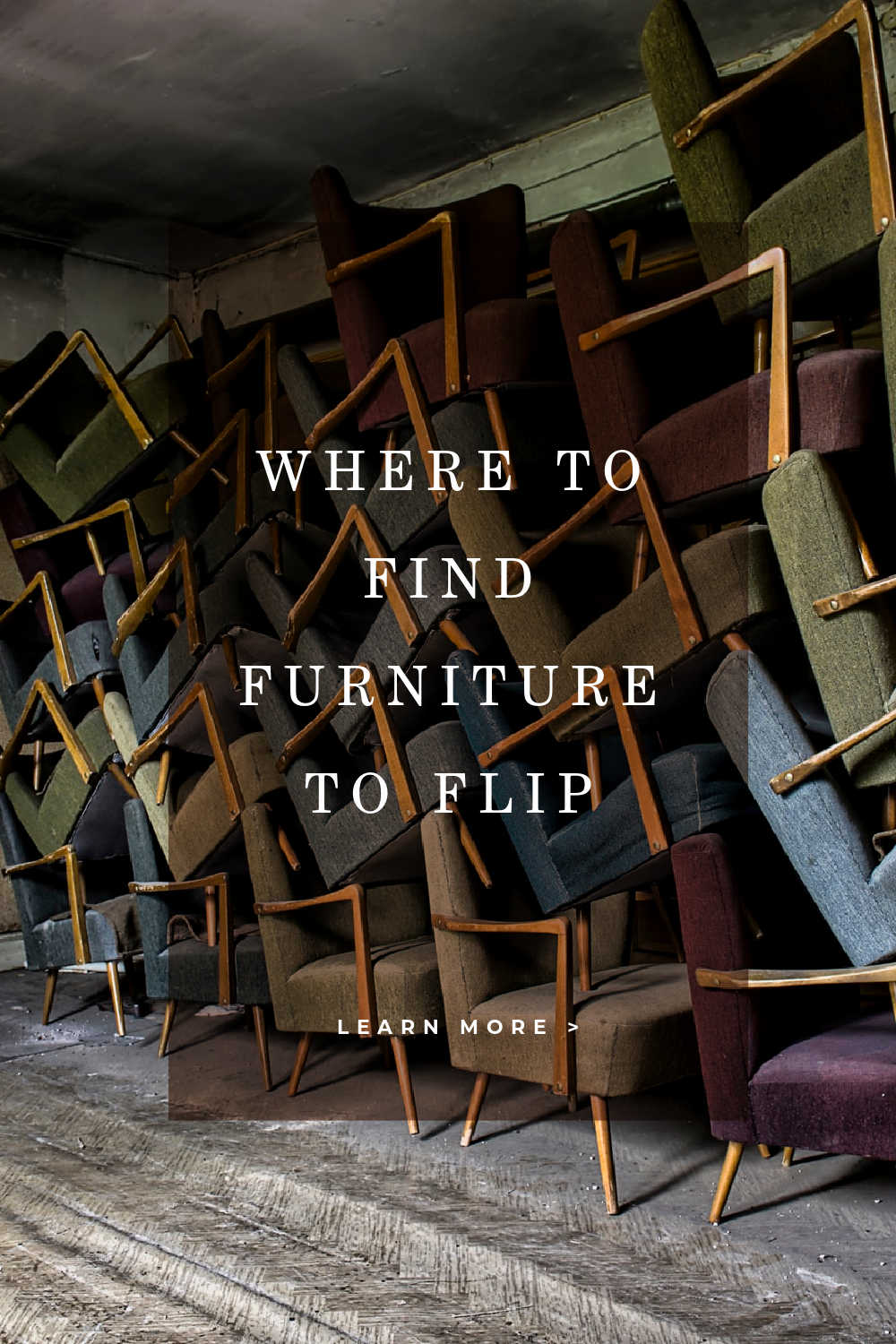 WHERE TO FIND FURNITURE TO FLIP