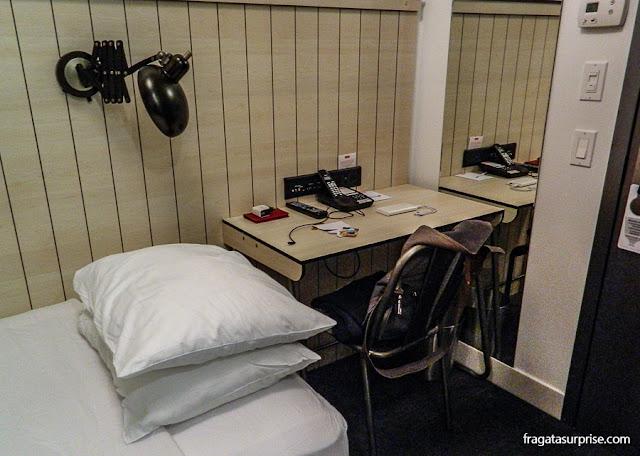 Quarto do Hotel Pod 39, Nova York