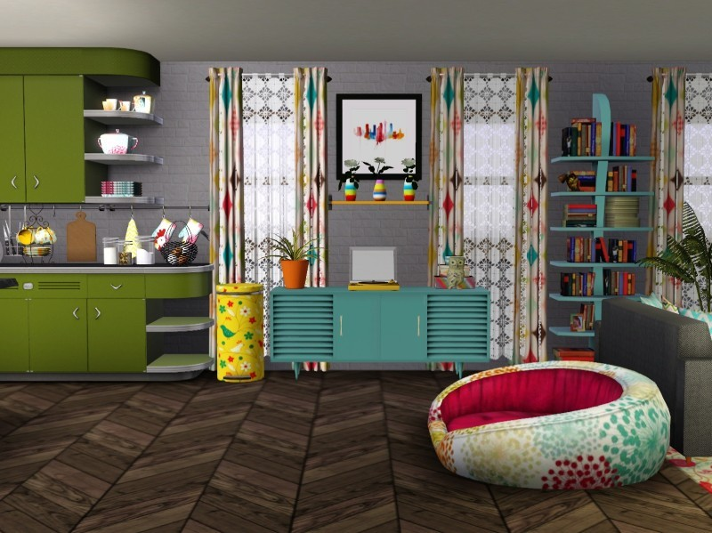 Sims 3 Apartment Interior Design