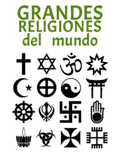 grandes, religiones, mundo