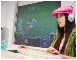Foto Seo Ji-soo, gamer cantik asal korea