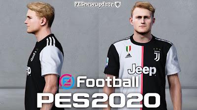 PES 2020 Faces Matthijs de Ligt by Alief