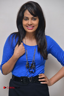 Actress Nandita Swetha Stills in Black Mini Skirt at Ekkadiki Potavu Chinnavada Movie Special Show  0007.JPG
