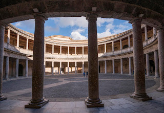 Palace of Carlos V. Alhambra