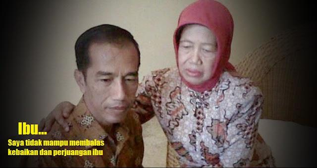 Kisah Hidup Ibu Jokowi, Sudjiatmi - Falsafah Ojo Dumeh Selalu Ditanamkan Pada Anaknya