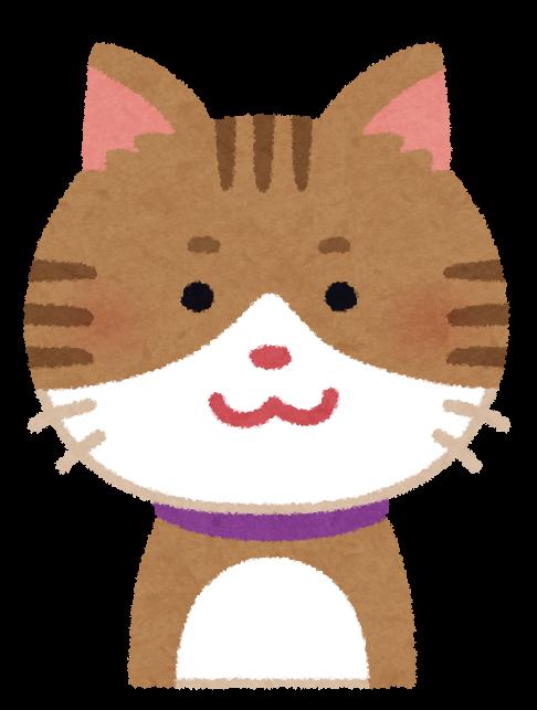 いろいろな表情の猫のイラスト 笑顔 怒り顔 泣き顔 笑い顔
