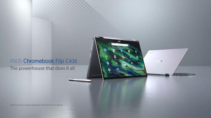 The Next Generation Laptop Asus Chrommebook Flip C436  Revelead on CES-2020