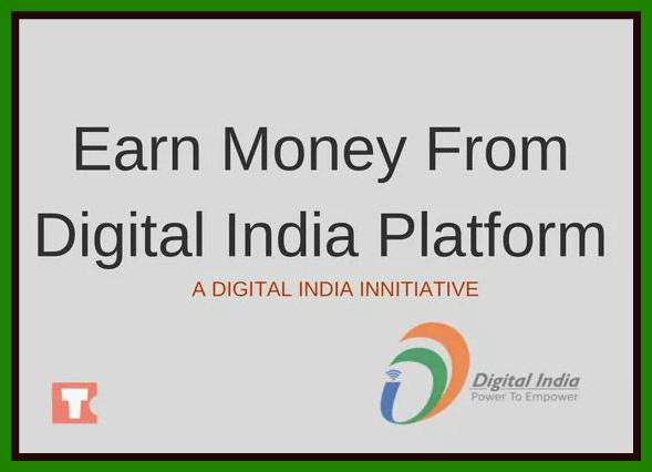 Get Free Online Registration & Earn Money In Digitize India Platform