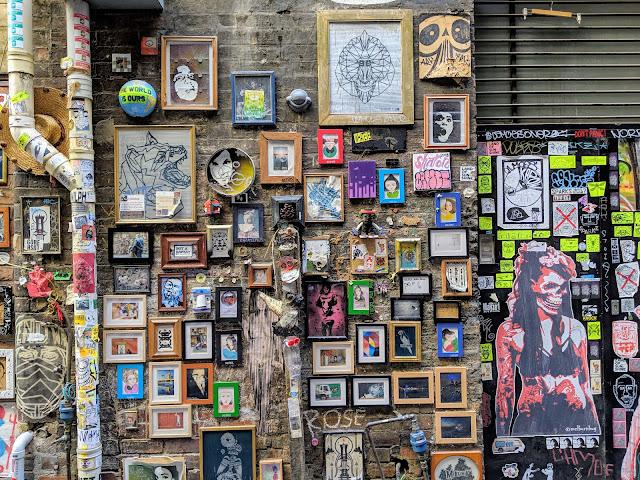2 days in Melbourne Australia: Melbourne street art