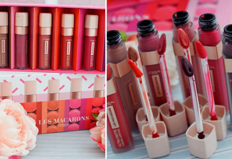 review  L´Oréal Paris Ultra Matte Les Macarons Lippenstifte
