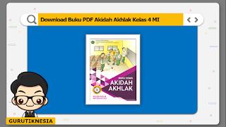 download ebook pdf  buku digital akidah akhlak kelas 4 mi