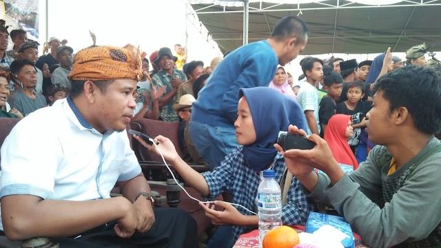 Pathul Bahri Tutup Festival Budaya Presean Desa Bakan
