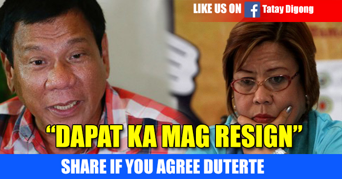 "Find Out Why Duterte Said To De Lima ""I will hang myself"""