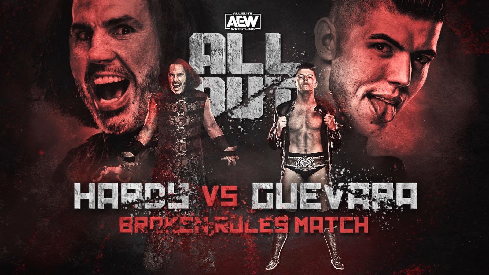 """""""Broken Rules Match"""" é anunciada para o AEW All Out"""