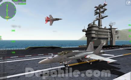 F18 Carrier Landing Lite v7.5.3 Kilitsiz Hileli Apk İndir 2020