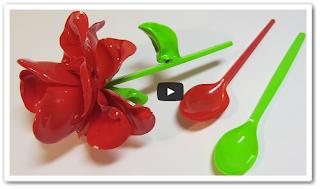 Что можно сделать из пластиковых ложек онлайн