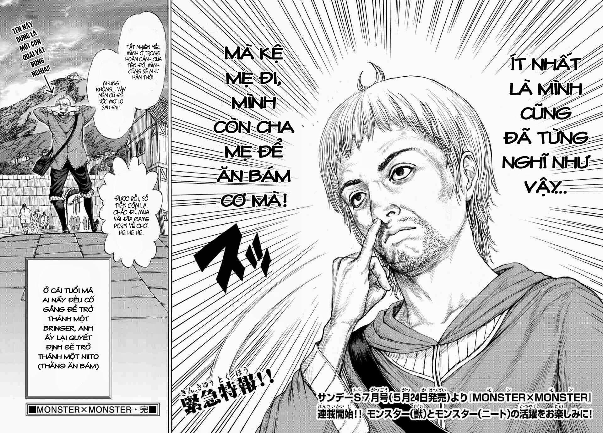 Monster X Monster chapter 1b trang 19