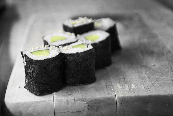 101 เมนูซูชิ ข้าวห่อสาหร่ายไส้แตงกวา, กัปปะมากิ (Kappa Maki)