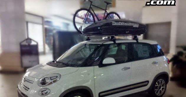 Rack Outfitters New Fiat 500l With Thule Roof Rack By