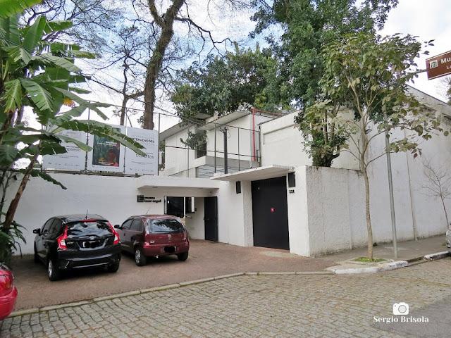 Vista da entrada do Museu Lasar Segall - Vila Mariana - São Paulo