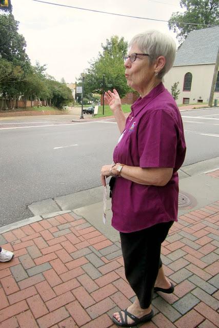 Kathy Mountjoy of the Smithfield Visitors Bureau