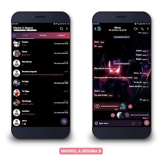 Spider Man Dark Theme For YOWhatsApp & Fouad WhatsApp By Maykol