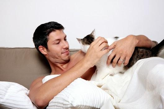 Czy kot może z nami spać?