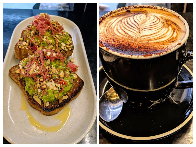 Melbourne weekend: Coffee at Seedling cafe on a Friday