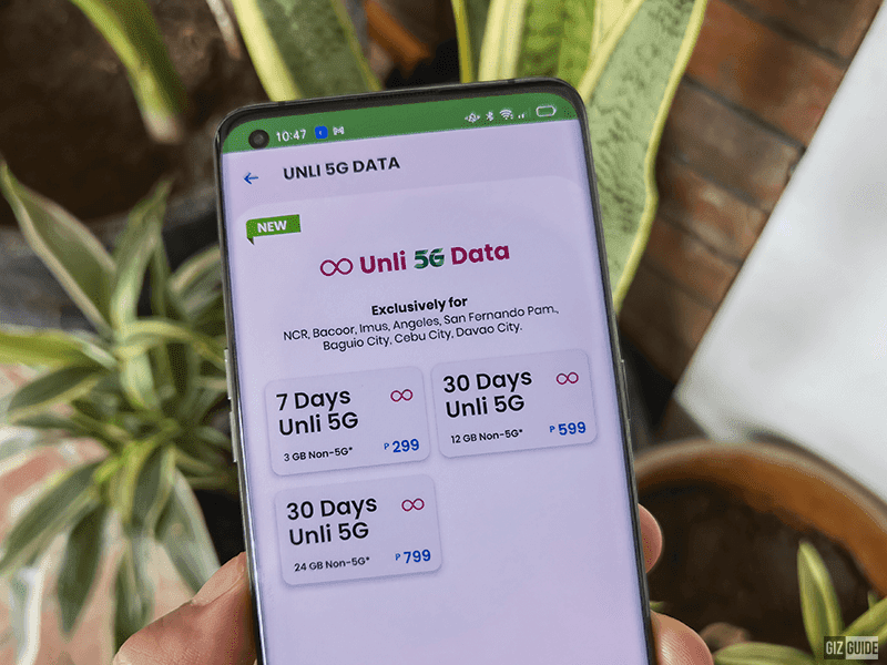 Breaking: Smart intros UNLI 5G DATA promo, starts at PHP 299 for 7 days!