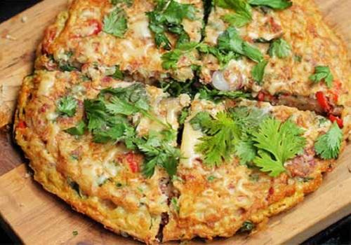 Resep Omelet Mie Sosis Dan Kornet Witnifood