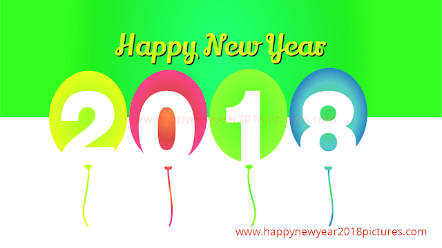2018 Happy New year Clipart For Kids