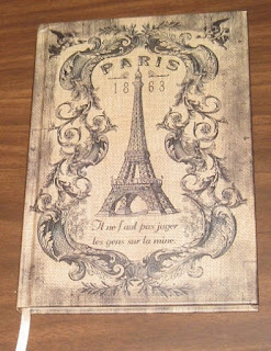 Love this Paris journal!