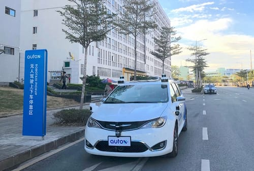 AutoX launches automated taxis in China