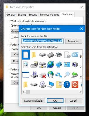 Cara Mengubah Ikon Folder di Windows 10