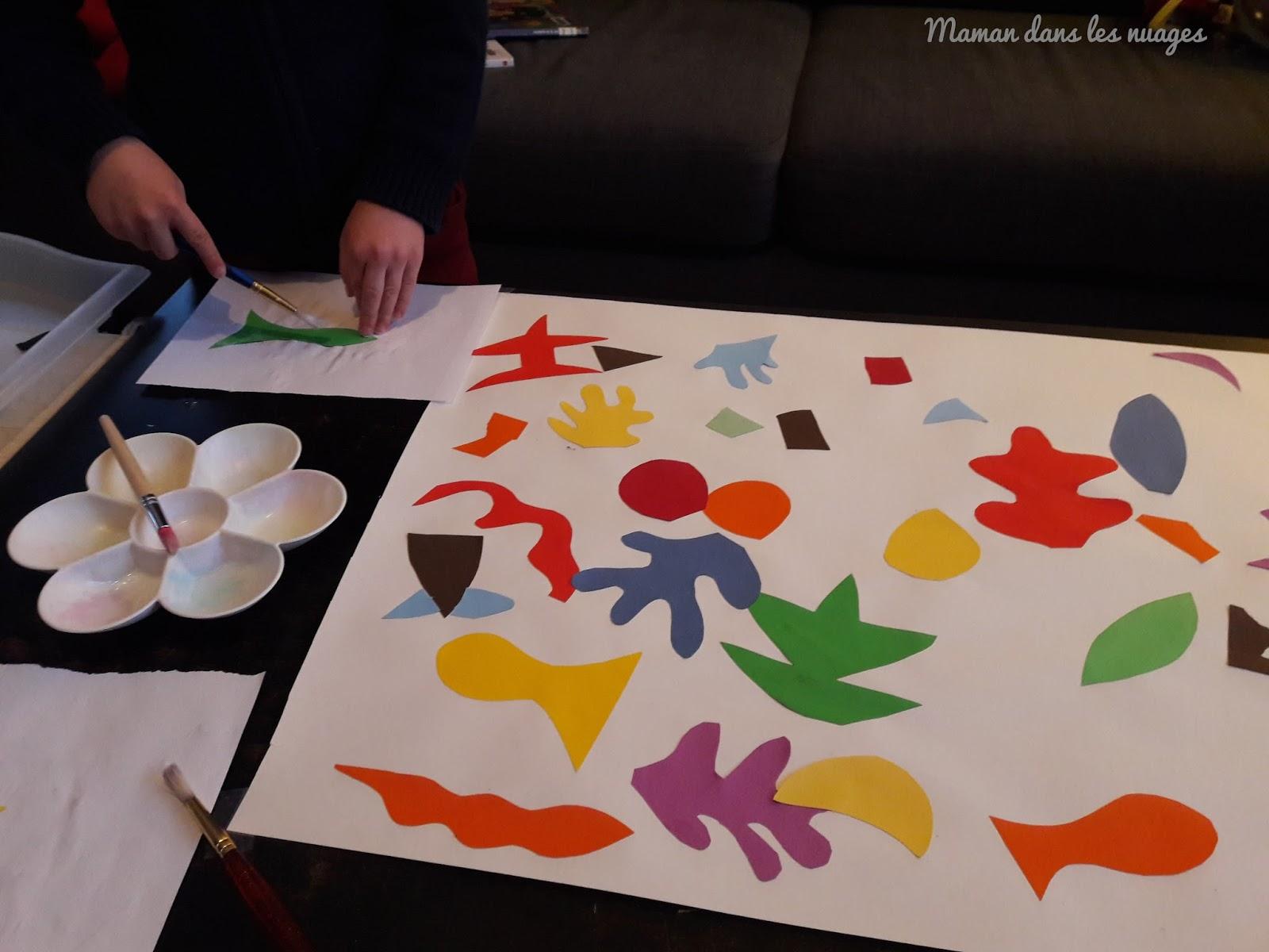 Un Maman Manière Les Matisse Est Jeu NuagesA La Dans {l'art De DIWHE92