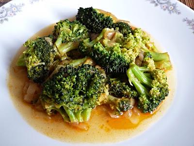 brócoli en escabeche
