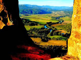 Vista do Alto do Morro do Campestre, Urubici