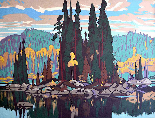 an Arthur Lismer painting