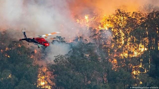 Australia Tambah Dana Ekstra Rp19 T untuk Tangani Kebakaran Hutan dan Lahan