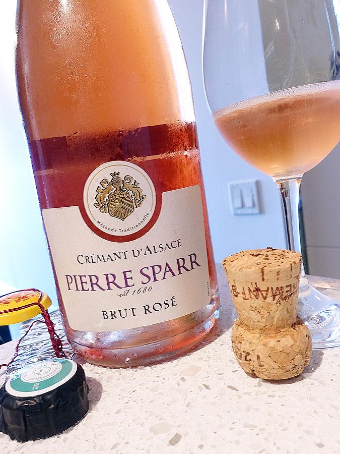 Pierre Sparr Brut Rosé Crémant d'Alsace (87 pts)