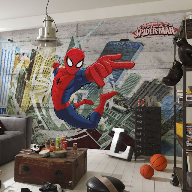 Marvel Wall Mural Spiderman