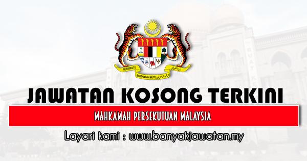 Jawatan Kosong 2021 di Mahkamah Persekutuan Malaysia