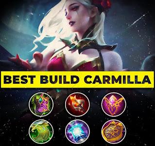 BEST BUILD ITEM HERO MOBILE LEGENDS: CARMILLA